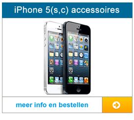 Bekijk hier het aanbod met accessoires voor de iPhone 5, 5c en 5s