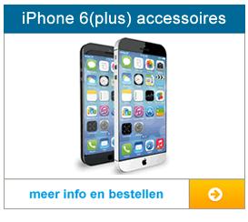 Bekijk hier de accessoires voor de iPhone 6 (plus)