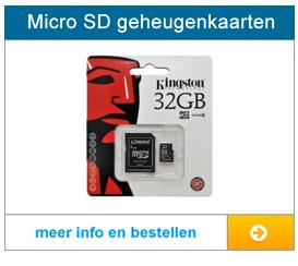 Bekijk hier totale aanbod met Micro SD geheugenkaarten