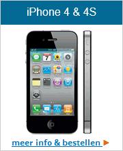 Bekijk hier het aanbod voor de iPhone 4 en iPhone 4s